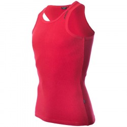 Dcore Bodydesigned Ribsinglet Red