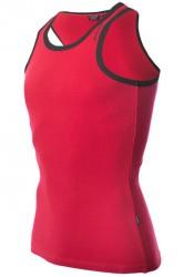 Dcore Bodydesigned Ribsinglet Red/Black