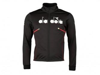 Diadora - Cykeljakke Retro 4D Vinter Thermo - Str. M - Sort