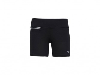 Diadora - L.STC Shorts - Korte løbetights - Dame - Sort