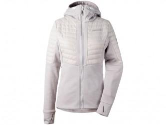 Didriksons Annema Womens Jacket - Softshelljakke Dame - Grå-hvid - 36