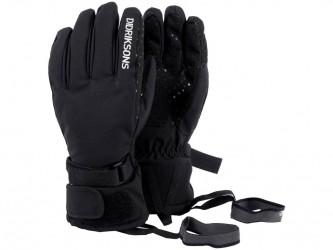 Didriksons Five Youth Gloves - Handske Børn - Sort - Str. 6