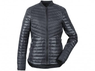 Didriksons Rima Womens Jacket - Fiberjakke Dame - Sort - 42