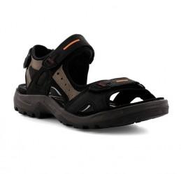 Ecco Offroad Yucatan Sandal Herre sort/grå
