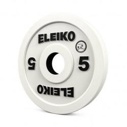 Eleiko WPPO Powerlifting Competition Disc, 5 kg - RC