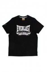 Everlast Mens Chest Print Tee Black
