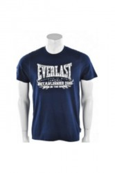 Everlast Mens Chest Print Tee Navy