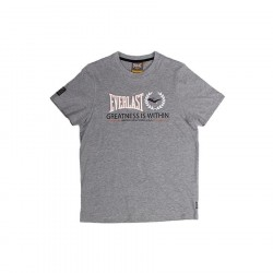 Everlast Mens Greatness Is Within Tee Grey