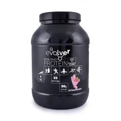 Evolver Whey 100 Proteinpulver Strawberry 1000g