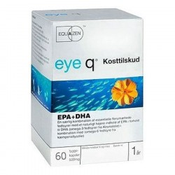 Eye Q Fiskeolie 60 Kapsler