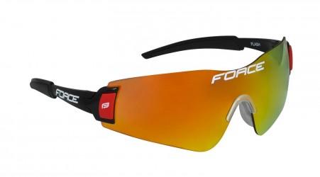 Force Flash Cykelbriller Sort Multilaser 22 gram