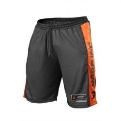 Gasp NO1 Mesh Shorts Black/Flame