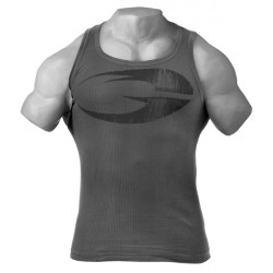Gasp Original Ribbed Tank Grey