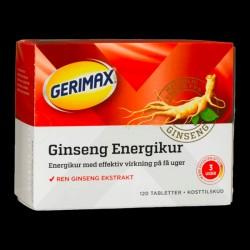 Gerimax Energikur, 120 tabletter