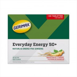 Gerimax Everyday Energy 50+ 80+40stk