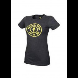 Golds gym - Ladies Stronger Than the Boys Tee - Dark Heather