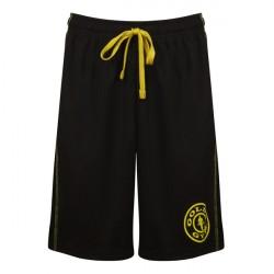 Gold's Gym Logo Mesh Shorts Black