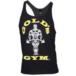 Golds Gym Stringer Tanktop - Black