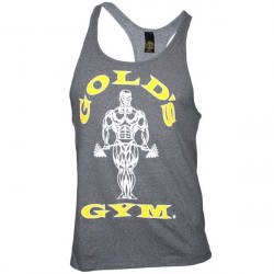 Golds Gym Stringer Tanktop -Grey