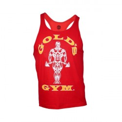 Golds Gym Stringer Tanktop - Red