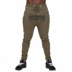 Gorilla Wear Men Alabama Drop Crotch Joggers, army green, Gorilla Wear