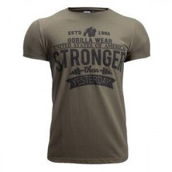 Gorilla Wear Men Hobbs T-Shirt, army green, Gorilla Wear