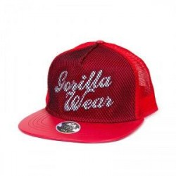 Gorilla Wear Mesh Cap, röd, Gorilla Wear