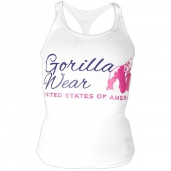 Gorilla Wear Women Classic Tanktop White