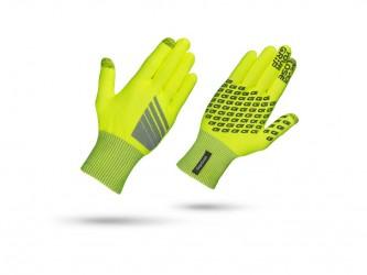 GripGrab Primavera - HI-VIS touchskærm cykelhandske - Neon gul - Str XS/S