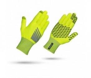 GripGrab Primavera - Hi-Vis touchskærm cykelhandske - Neon gul