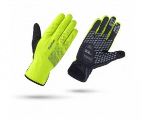 GripGrab Ride Waterproof Hi-Vis Winter 1069 - Cykelhandske - Neon Gul