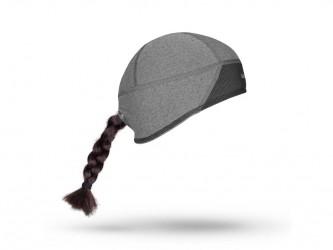 GripGrab Windproof skull cap - Dame vindtæt hjelmhue - Grå - Str. S