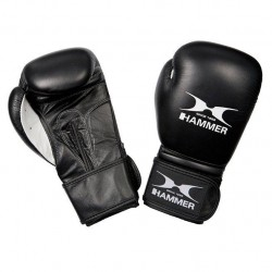 Hammer Boxing Gloves Cowhide, 14 oz