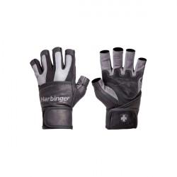Harbinger BioFlex Wrist Wraps Gloves Grey