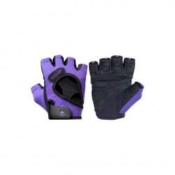 Harbinger Women's FlexFit Gloves - Black/Purple