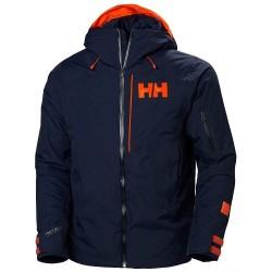 Helly Hansen Powjumper Vinter- og Skijakke Herre, blå
