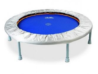Heymans Trimilin trampolin Mini Swing Rebounder faste ben sort-sølv
