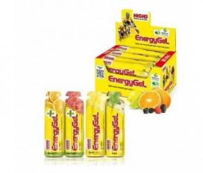 High5 EnergiGel - Kasse med 20 stk. - 5 x 4 forskellige smagsvarianter