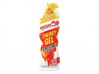 High5 EnergyGel+ - Appelsin 40 gram - 30mg Koffein
