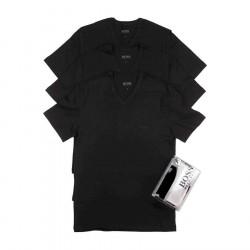 Hugo Boss 3-Pack T-Shirts V-Neck Black