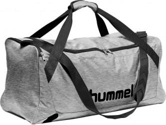 Hummel Core Sportstaske, grå melange - Large