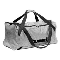 Hummel Core Sportstaske, grå melange - Medium