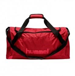Hummel Core Sportstaske, mørk rød - Medium