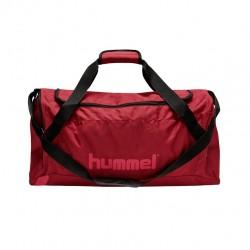 Hummel Core Sportstaske, mørk rød - Small