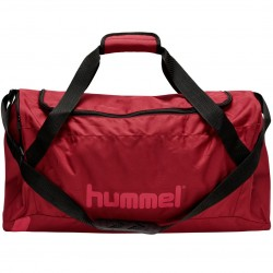 Hummel Sportstaske, mørk rød - Large