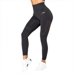 ICANIWIL Seamless High Waist Tights Graphite Melange