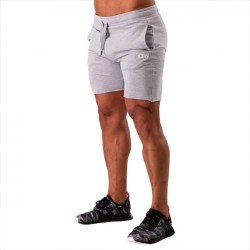 ICANIWILL Clean Cut Shorts Grey Melange