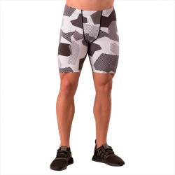 ICANIWILL Short Tights Camo White