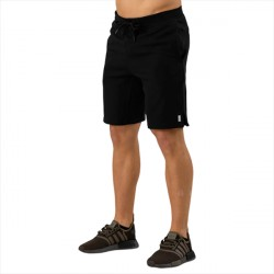 ICANIWILL Sweat Long Shorts Black
