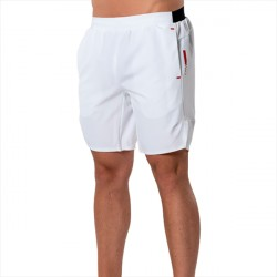 ICANIWILL Tech Shorts White